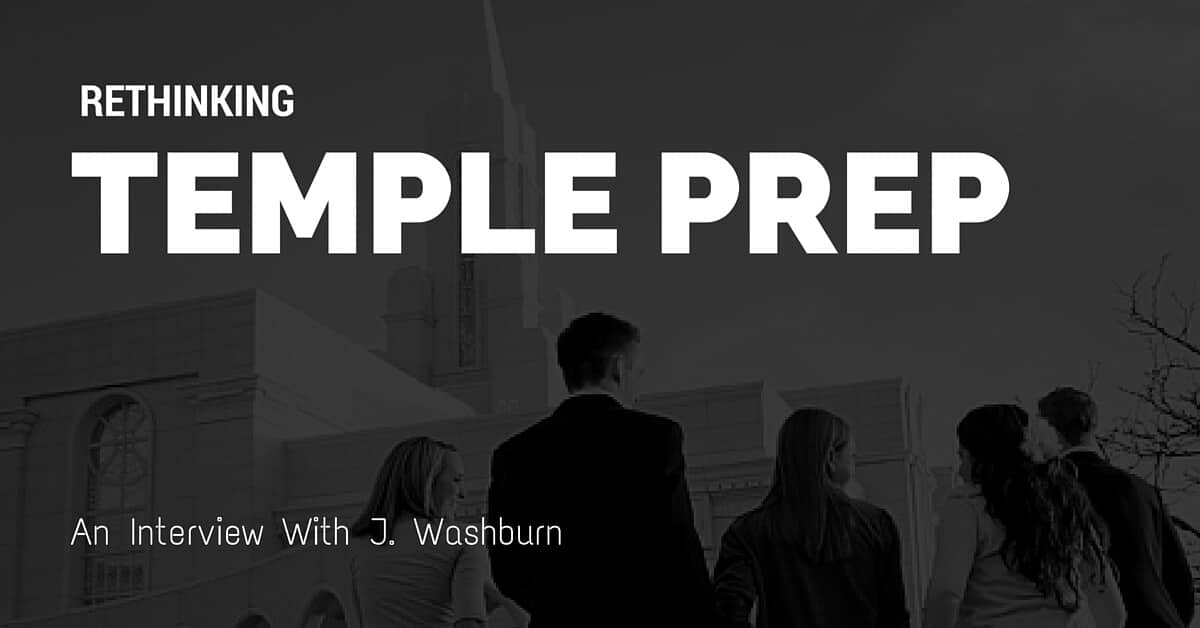 Improving Temple Prep | An Interview with J Washburn