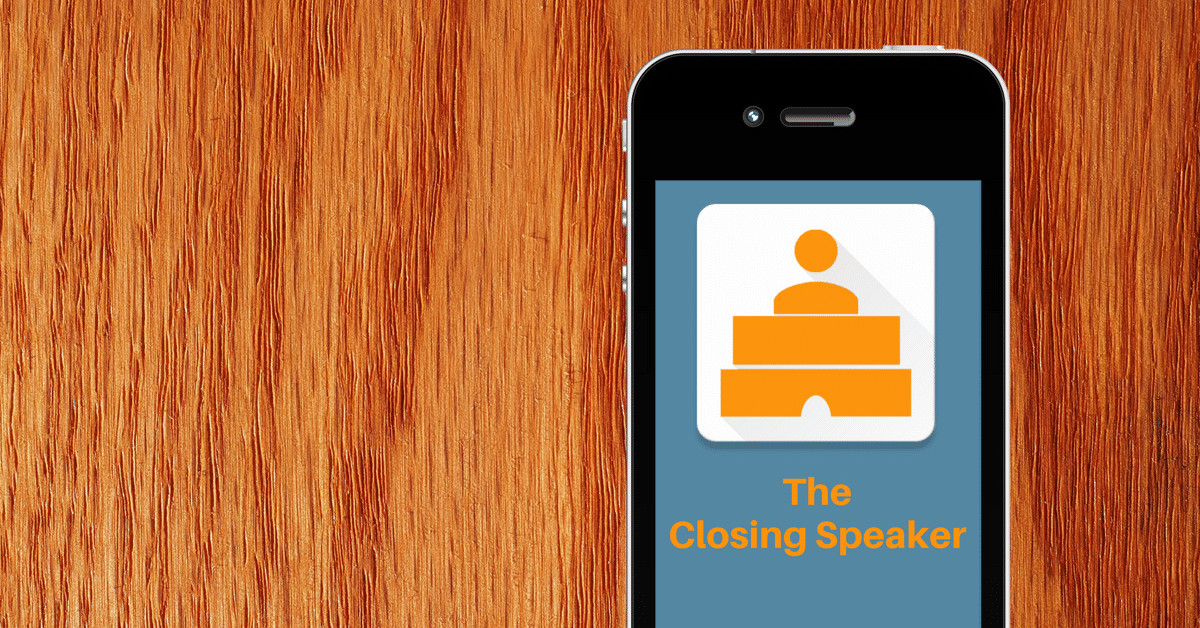 An App for When You Are the Closing Speaker in Sacrament Meeting